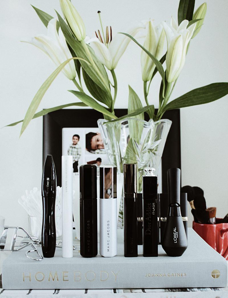 Loving Right Now Mascara Edit: Lancome, Marc Jacobs, Laura Mercier, & Dior