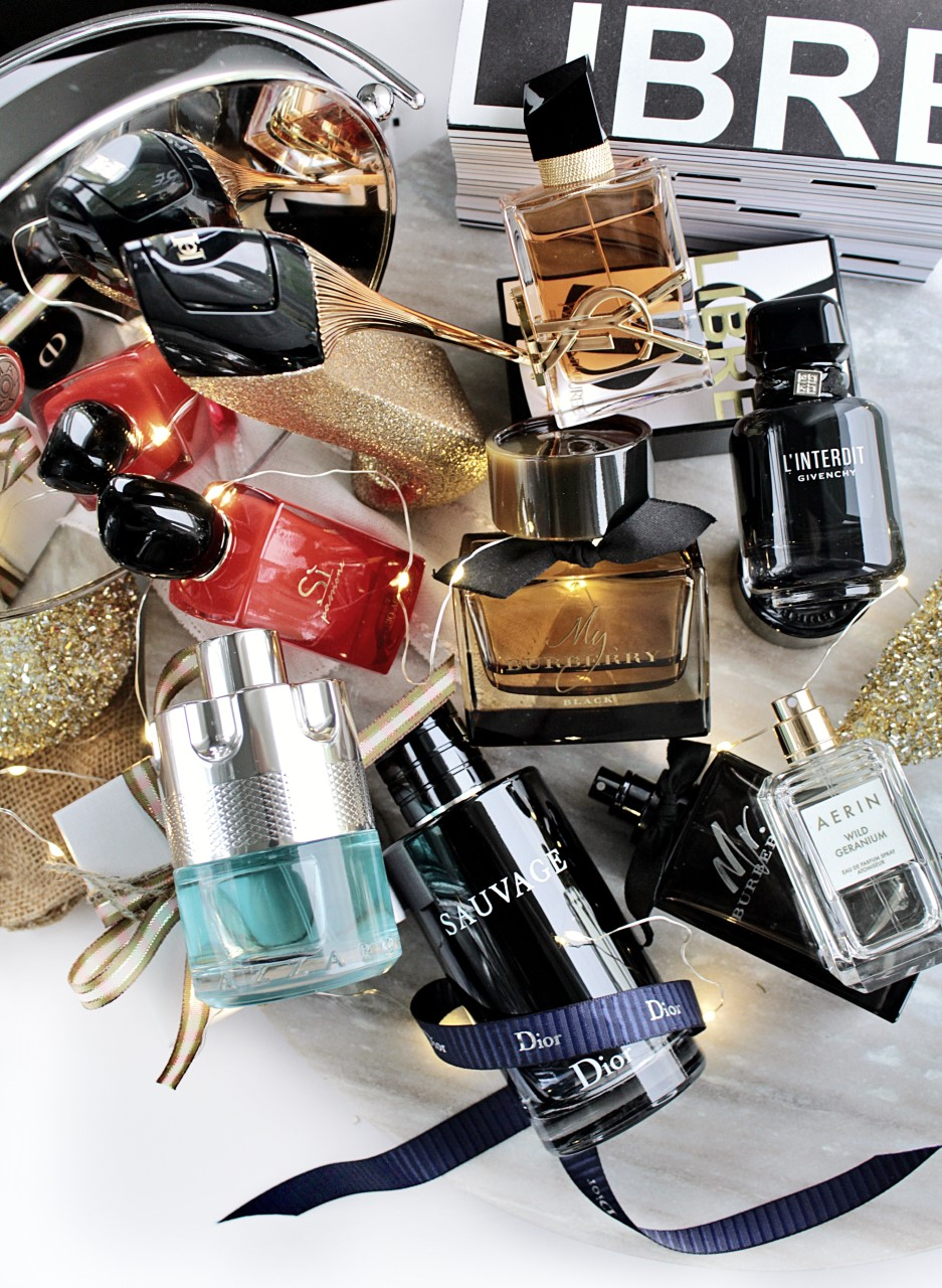 Holiday Fragrance Gift Guide  for Her & Him